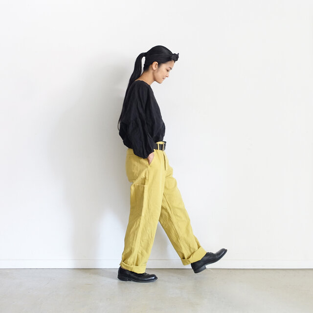 (Model 158cm、Yellow着用)
