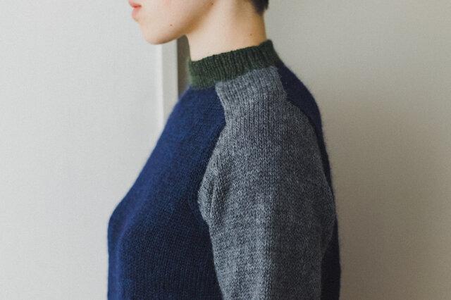 原毛の風合いに近いメリノウールの糸は、とてもふわふわとして柔らかく、軽く編みあがります。