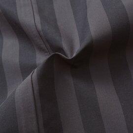 NARU|40コットンタイプライターストライププルオーバーシャツ 640905-yn