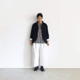 ichi Antiquités|Linen Border Pullover