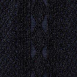 nooy|ウールコットンニットモチーフジャガードブランケットスカート nsk03aw18-mm