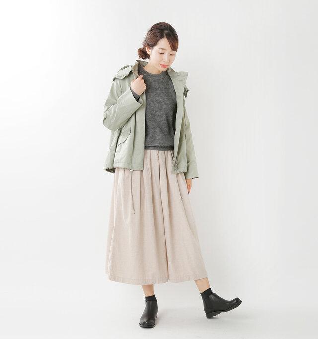 model mizuki:168cm / 50kg color : black / size : 38(約24.0cm)