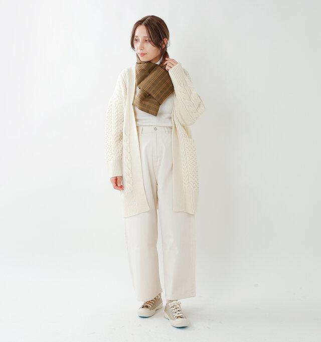 model yama:167cm / 49kg color : orange brown / size : F