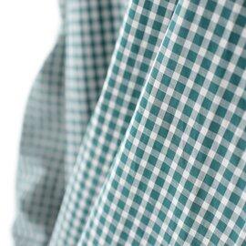 SETTO|リバティ ファーム シャツ LIBERTY FARMS SHIRT ワイドシルエット スタンドカラー ギンガムチェック シャツ STL-SH042 セット
