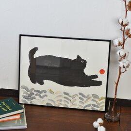 FineLittleDay|ポスター PLAYING CAT  40×50cm