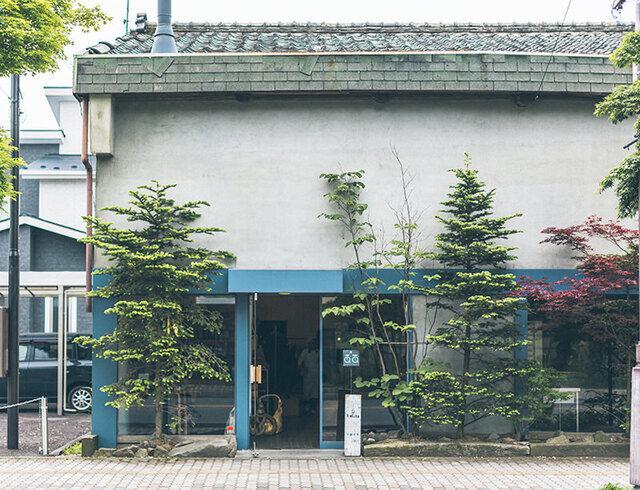 中軽井沢にあるベーカリーショップ haluta 軽井沢。