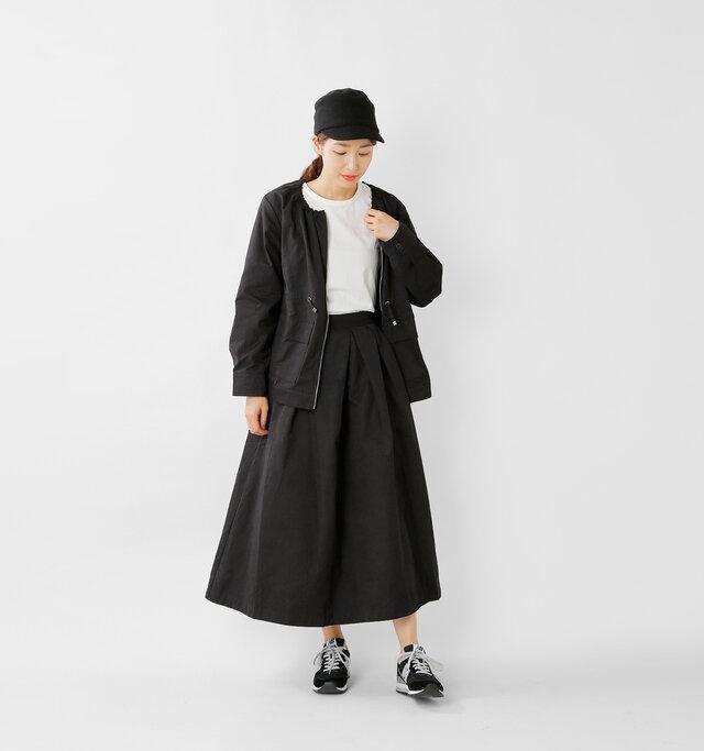 model mizuki:168cm / 50kg color : black / size : 24.0cm