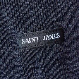 SAINT JAMES ボートネックウール×コットンダブルフェイスセーター 00jc182-2-mm