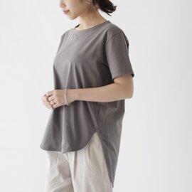 SIWALY|クルーネックハーフスリーブTシャツ トップス 520118 シワリー