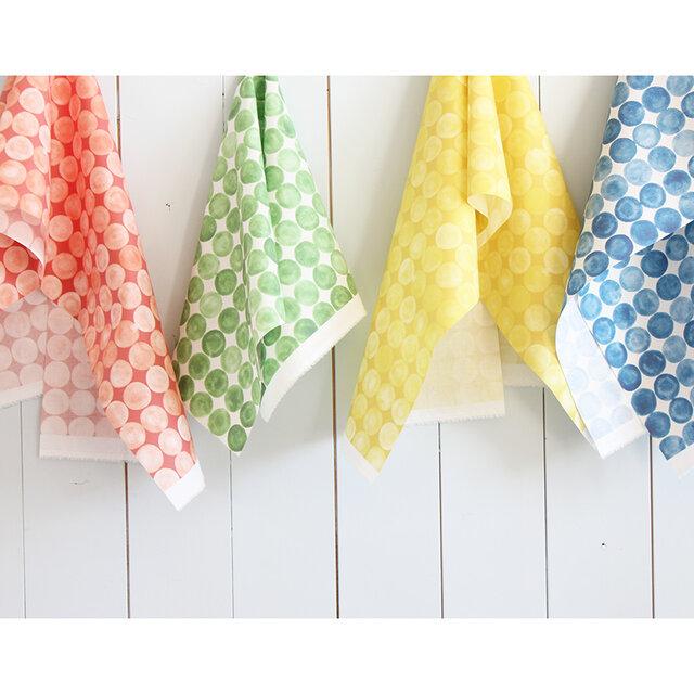 まる、まる、まる、をモチーフとしたおしゃれなデザイン。人気テキスタイルデザイナーによるデザインの布たち。