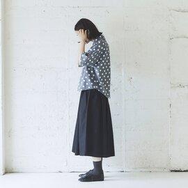 Cion|コットンレーヨンドットシャツ・19-05202