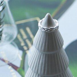 ENAMEL COPENHAGEN|Braided Ring (ブレイデッドリング) 【メール便】