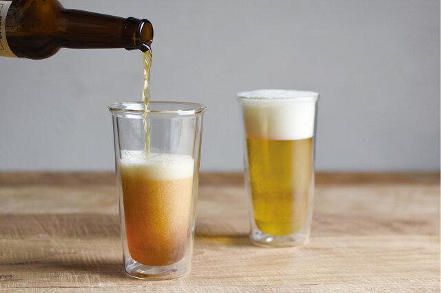 断熱効果があり、冷たいものは冷たく、温かいものはその状態をより長くキープできます。口当たりもなめらかで、ストレスフリーの飲み心地を実現。