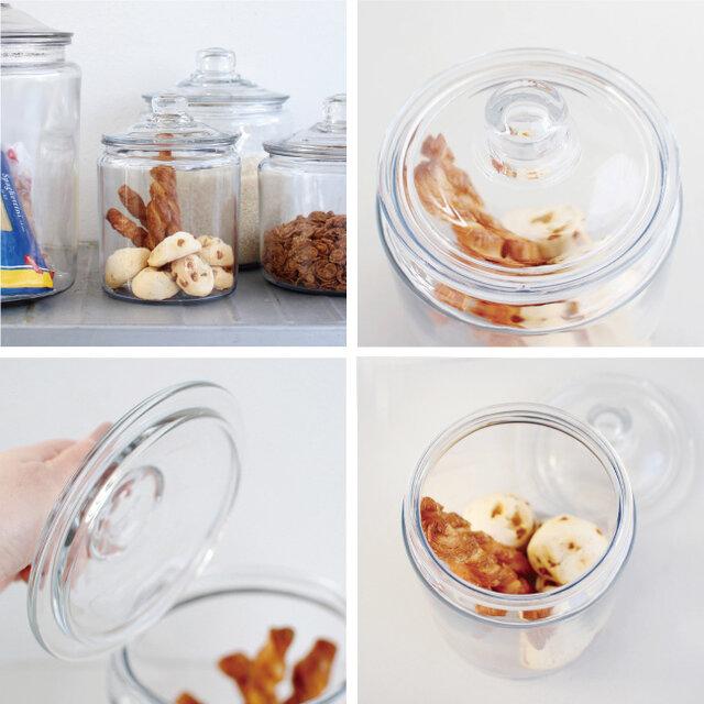 こちらのSSサイズは、食材のストックを入れておいたり、小物の収納用にもおすすめ。