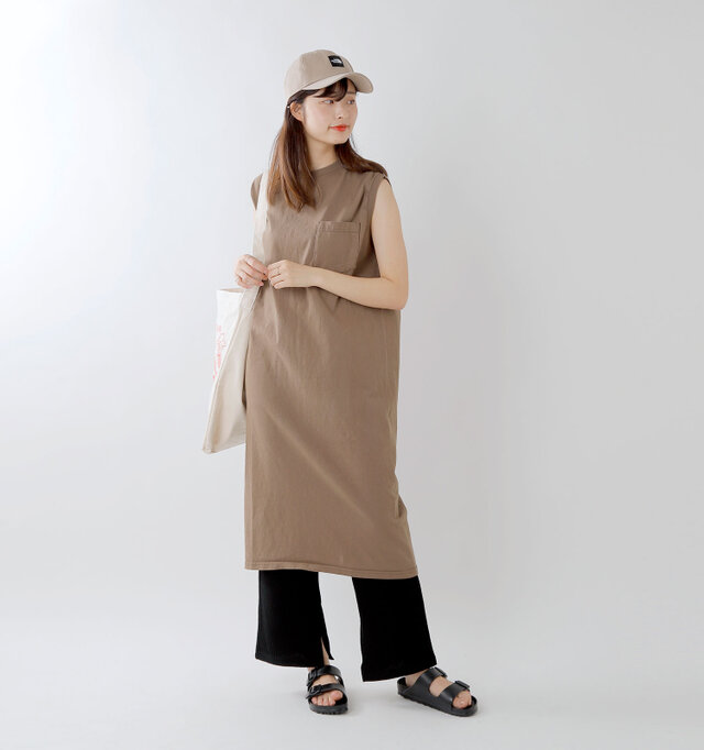 model kanae:167cm / 48kg color : graysh / size : brown
