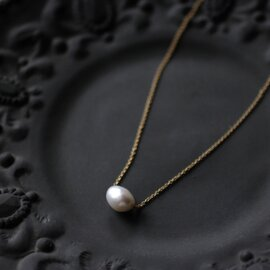Laboratorium|keshi pearl necklace