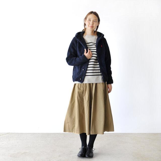 モデル:164cm / 46kg color : navy / size : 14(Women's M)