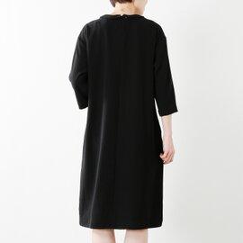 【2019SS】Si-Si-Si|aranciato別注 とろみプレーンウィーブラウンドカラー3wayドレス n-2513d-mm