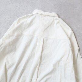 UNIVERSAL TISSU|東炊きコーデュロイ ワイドワークシャツ