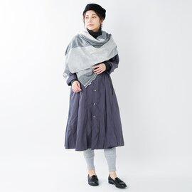 """meri ja kuu コットン混10分丈レギンス""""芥子山"""" mj-12328-mm"""