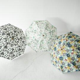 Cou Pole|リバティ フラワー プリント 折り畳み 傘 アンブレラ 花柄 雑貨 CC-48301 クーポール