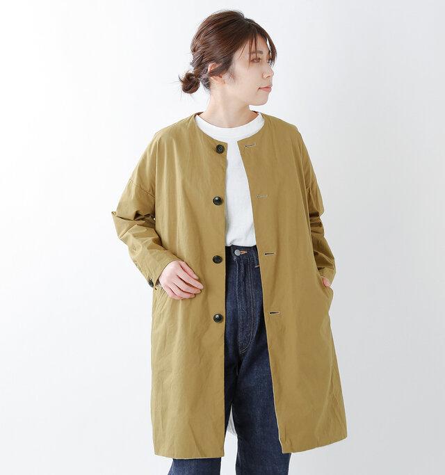 model hikari:165cm / 48kg color : walnut / size : 0(XS)