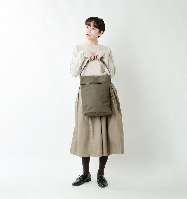 model saku:163cm / 43kg  color : olive / size : one