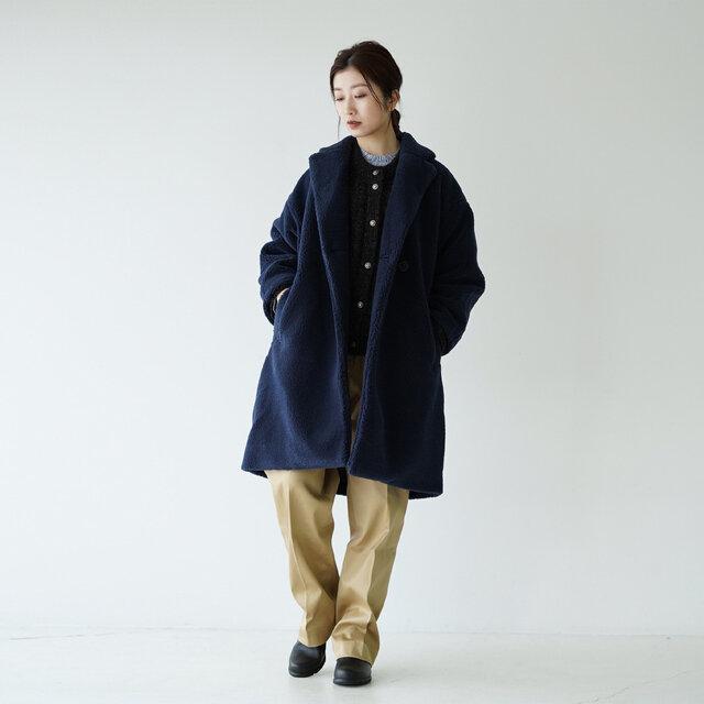 モデル:166cm / 47kg color : ネイビー(N) / size : WM(レディースS〜M)