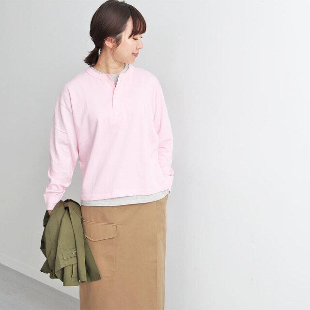 ピンク / XS 着用、モデル身長:167cm