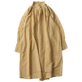mizuiro ind.|shirt collar volume OP シャツカラーボリュームプルオーバーブラウス・3-257782 ミズイロインド