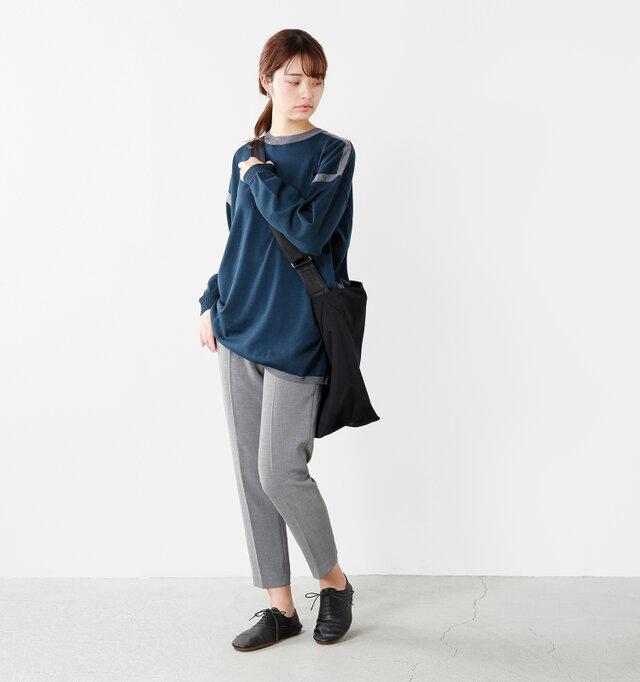 model kanae:167cm / 48kg color : black / size : L