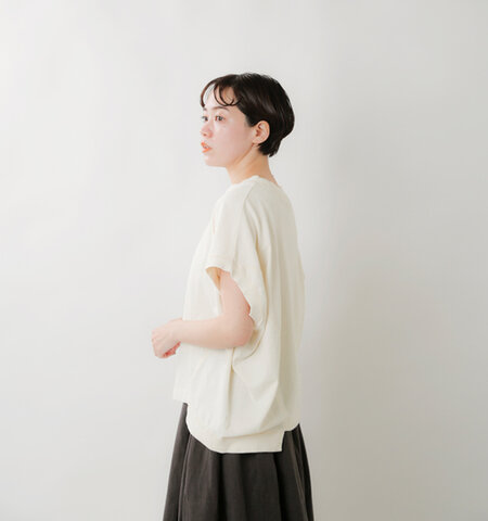 TANG aranciato別注 コットン天竺アシンメトリープルオーバー 1915215-ms