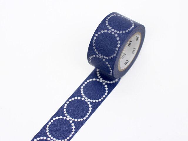 minaperhoneの代表作ともいえるテキスタイル「tambourine」が落ち着いたカラーのマスキングテープになりました。