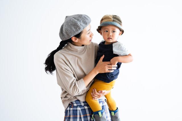 ふと気づいたら腕をまくっていることはありませんか? 毎日の家事や子育てで七分袖の楽さに改めて気づきます。