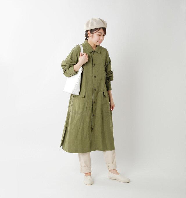 model hikari:165cm / 48kg color:natural / size:24.0cm