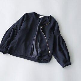 whyto|バック タック ジャケット Back Tuck Jacket WHT21FJK2 ホワイト