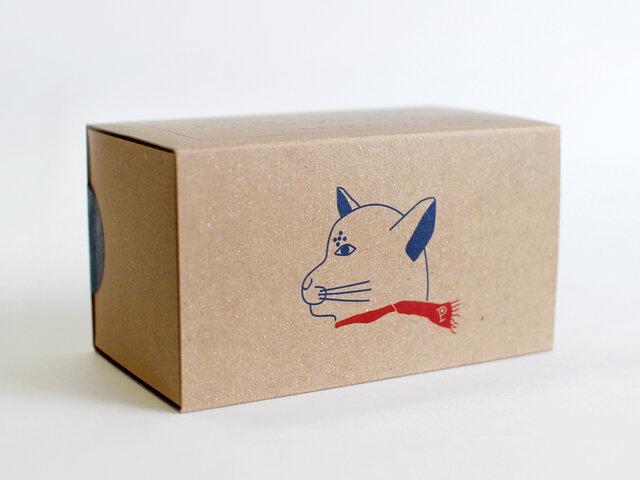 パッケージは店主の登尾紘子さん自身が描くネコのイラストが可愛らしく、お土産ややプチプレゼントとしてもお勧めの商品です。