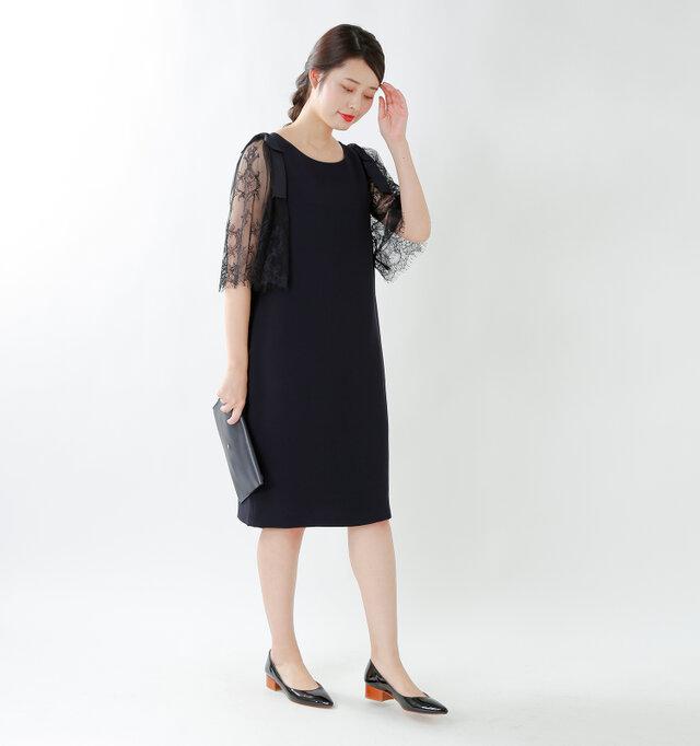 model kanae:167cm / 48kg color : navy / size : 38