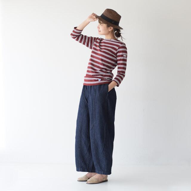 モデル: Mayu / 170cm / 54kg color : taupe-suede / size : 37(23.5cm)