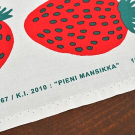 marimekko|【メール便対応】生地 PIENI MANSIKKA(手作りマスクにも使えます)