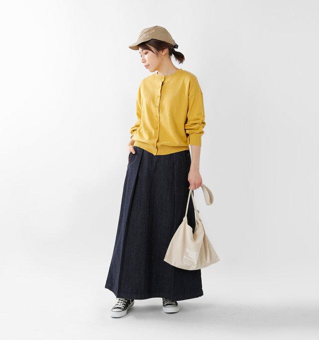 model hikari:165cm / 48kg color : yellow / size : F