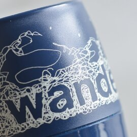 "and wander│カラビナ付断熱カップ""and wander DINEX"" 574-0977004-ms"
