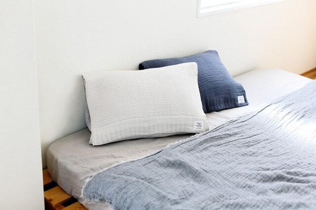 枕カバーとしても