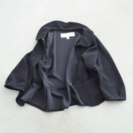 Si-Si-Si│aranciato別注 とろみラウンドカラージャケット n-2006b-hm
