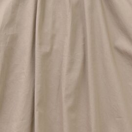 TUTIE.|エジプトコットンサテンタックロングスカート