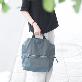 STANDARD SUPPLY|3WAY ZIP TOTE