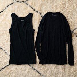 joha|メンズ ウール ノースリーブアンダーシャツ