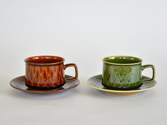 カラーは、飴釉(茶)と緑の2色。
