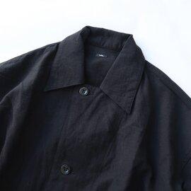 UNIVERSAL TISSU|アンティークスラブ ミリタリーロングシャツ
