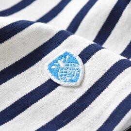 【2019SS】ORCIVAL|コットンボーダークレイジーワイド5分袖カットソー b429-yh